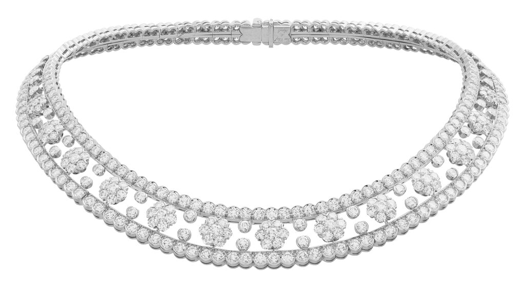 Golden Globes 2021: The stand-out jewellery on the virtual red carpet VCARO3RI00 Snowflake necklace 02 578010
