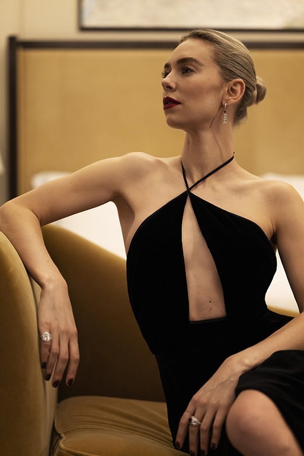 Golden Globes 2021: The stand-out jewellery on the virtual red carpet Vanessa Kirby Globes Greg Williams COL