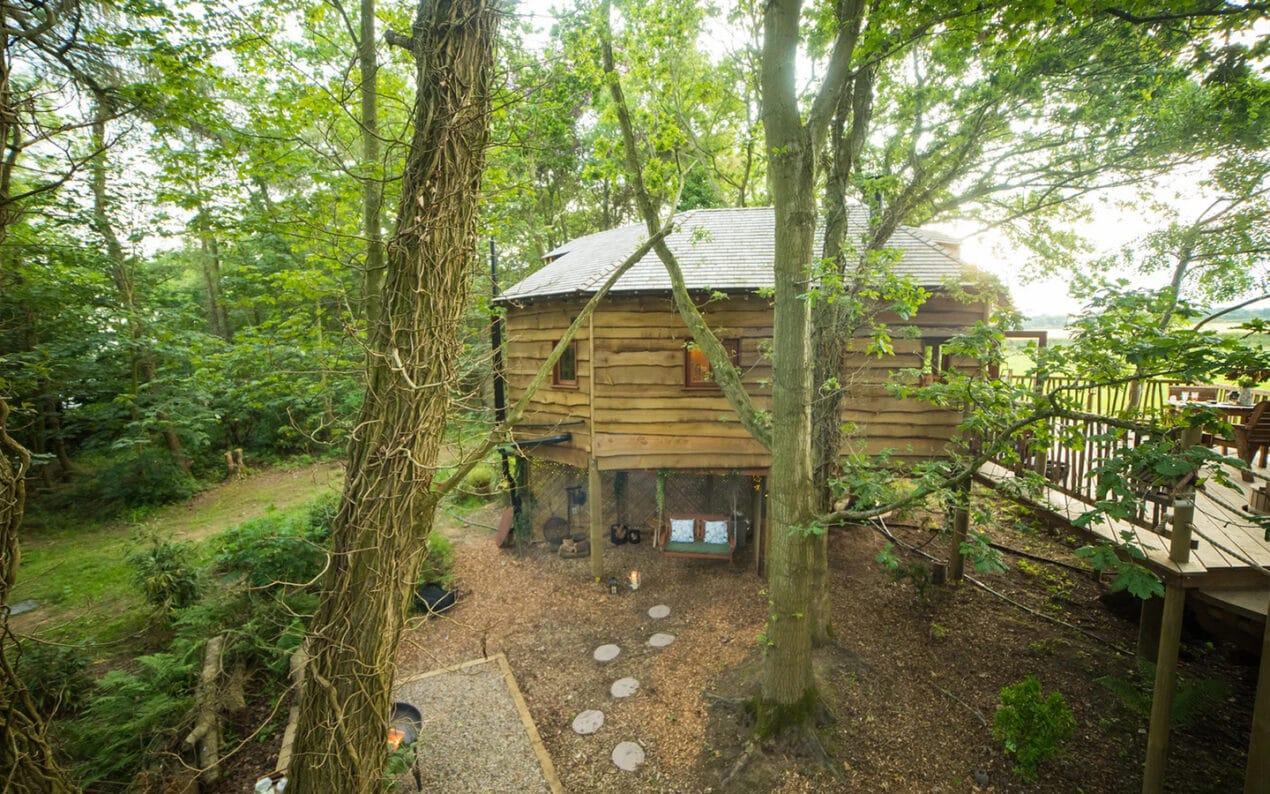 8 spectacular luxury treehouses across the UK to escape to Woodland Chase Northumberland