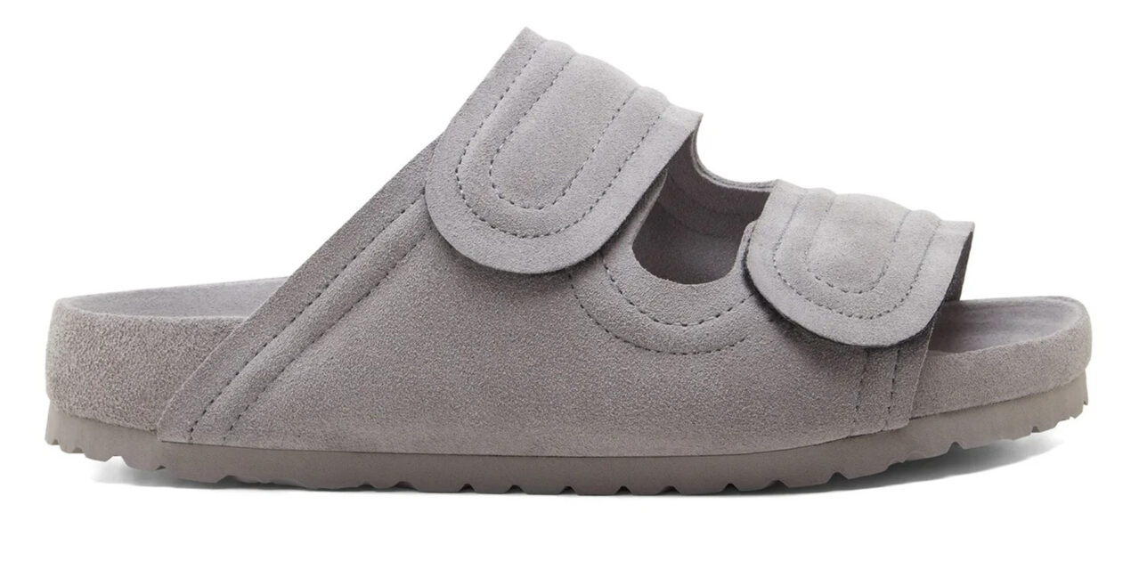 The most covetable new fashion collections launching this April Birkenstock x Toogood The Forager grey suede sandals