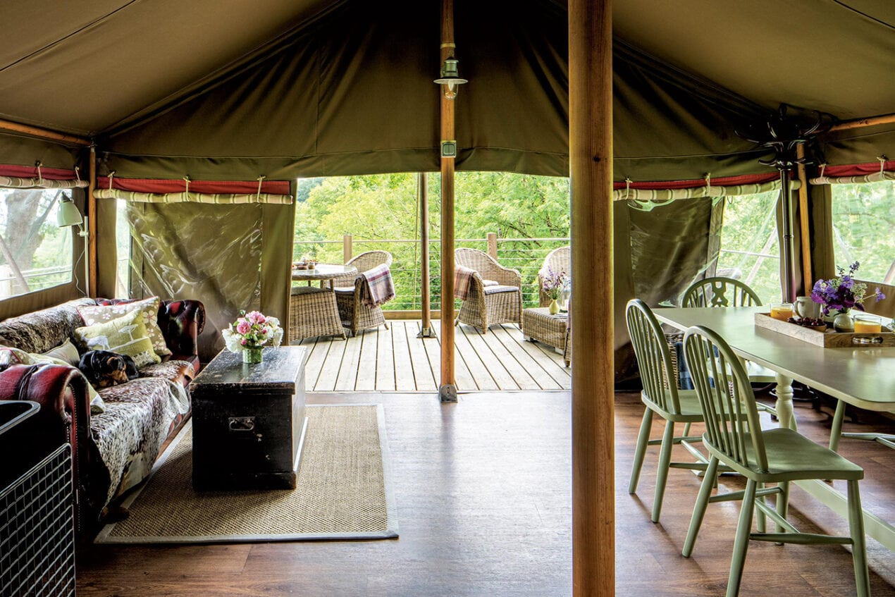 The most idyllic glamping staycation spots across the UK to book now