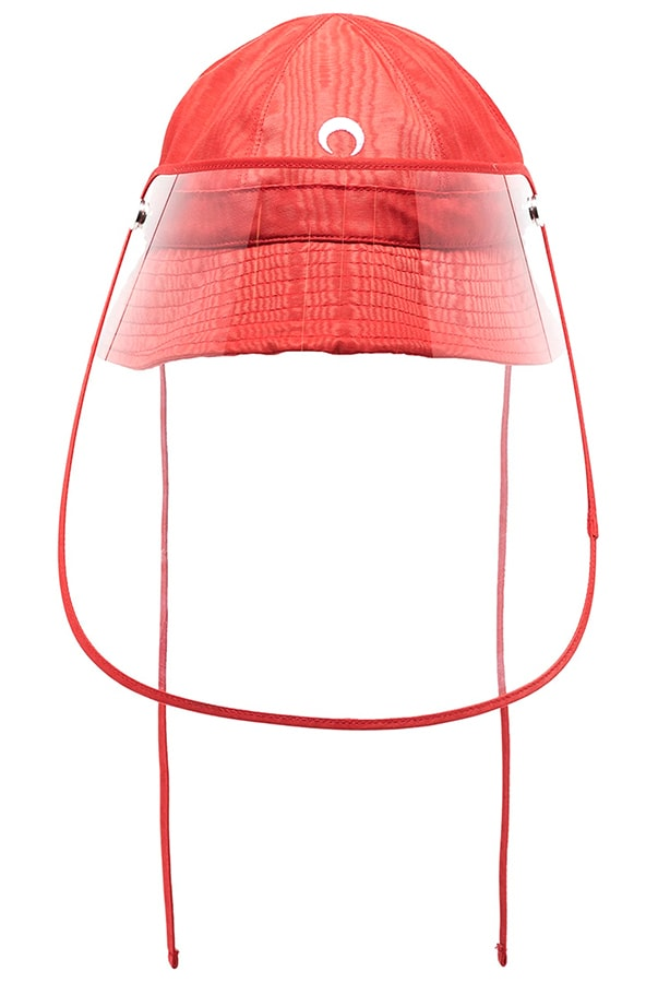 The most covetable new fashion collections launching this April marine serre x browns red visor