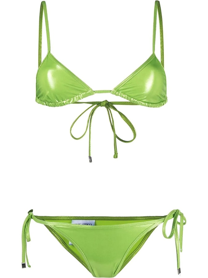 The most covetable new fashion collections launching this April the attico triangle bikini set