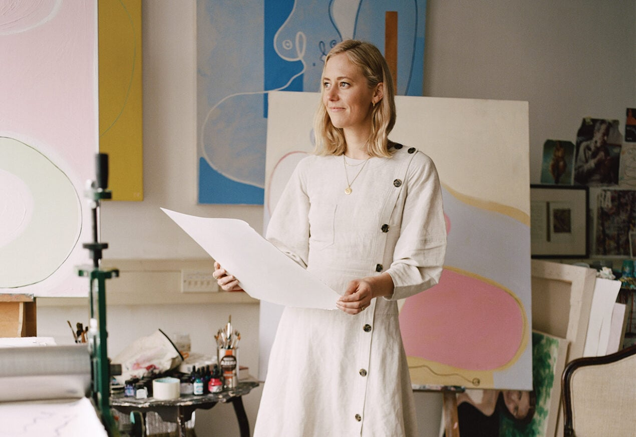 Curator Georgia Spray's guide to choosing affordable art for your home Georgia Spray high res 1