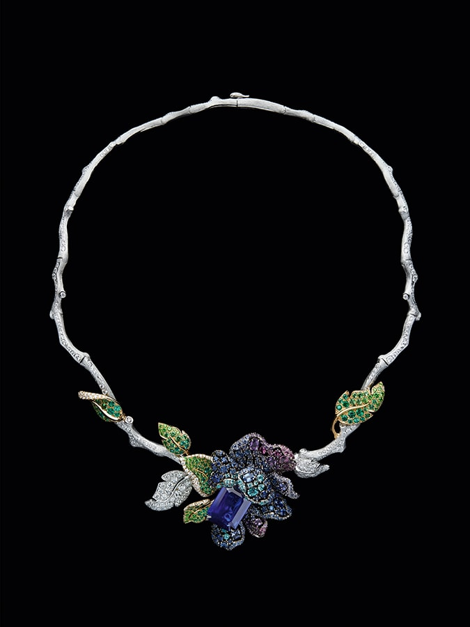 Dior Unveils Dior Rose High Jewellery Collection 2021