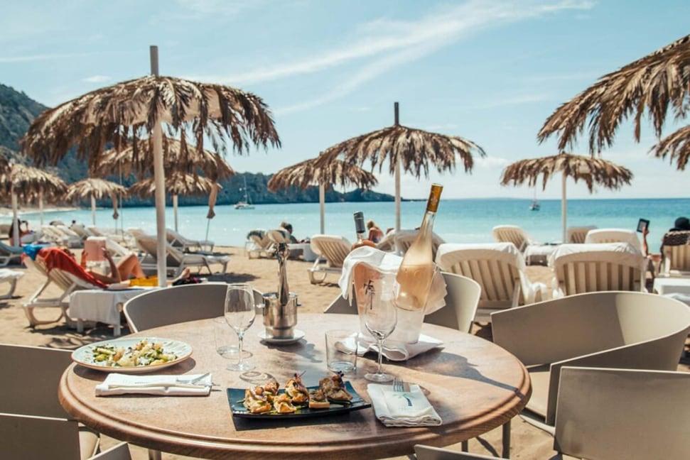 Annie's Ibiza: Fashion queen Annie Doble's favourite places to go in Ibiza Annies Ibiza Cala Jondal Ibiza