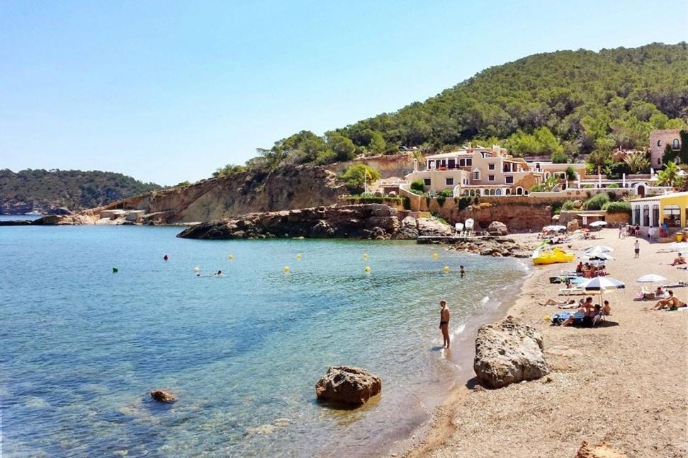 Annie's Ibiza: Fashion queen Annie Doble's favourite places to go in Ibiza Annies Ibiza Cala Xarraca cove