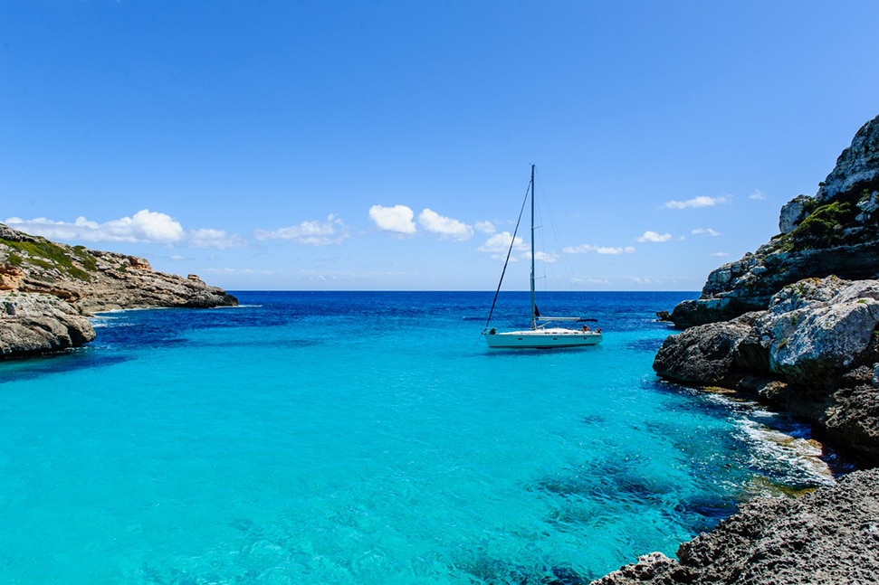 Annie's Ibiza: Fashion queen Annie Doble's favourite places to go in Ibiza Annies Ibiza Sailing to Formentera