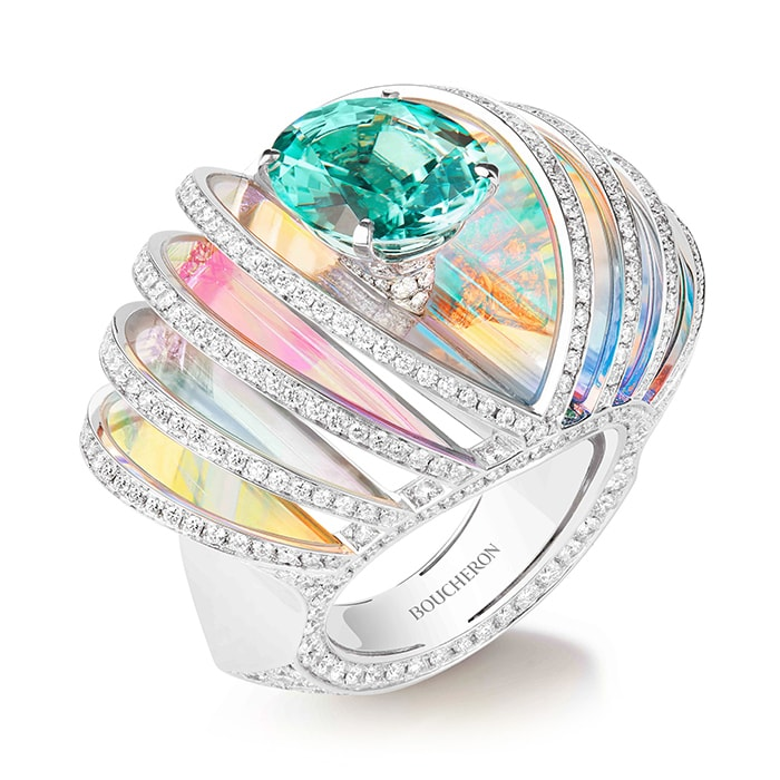 Boucheron Presents High Jewellery Collection Holographique