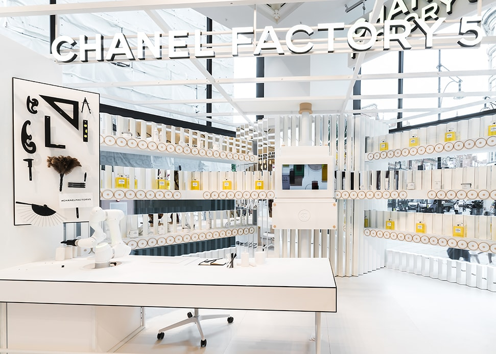 Chanel Factory 5 Pop Up at Selfridges: Chanel No 5 is 100