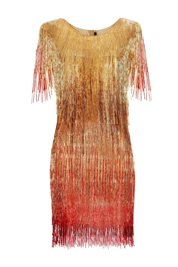 Annie's Ibiza: Fashion queen Annie Doble's favourite places to go in Ibiza Javier Osorio Sofia Sunset Dress