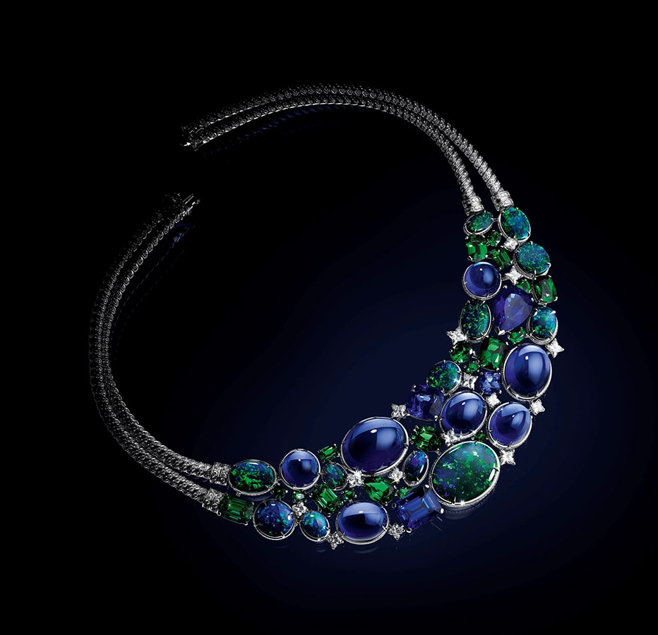 Louis Vuitton's <em>Bravery</em> high jewellery collection is a glittering tribute to the maison's founder LOUIS VUITTON BRAVERY COLLIER CONSTELLATION D HERCULE