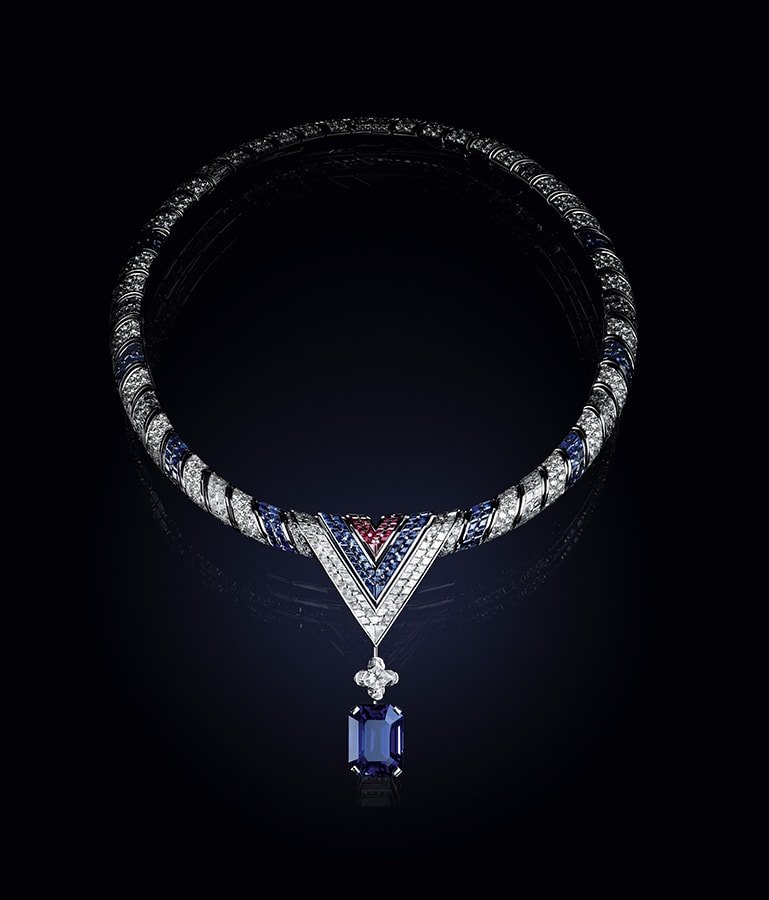 Louis Vuitton's <em>Bravery</em> high jewellery collection is a glittering tribute to the maison's founder LOUIS VUITTON BRAVERY COLLIER THE ARROW