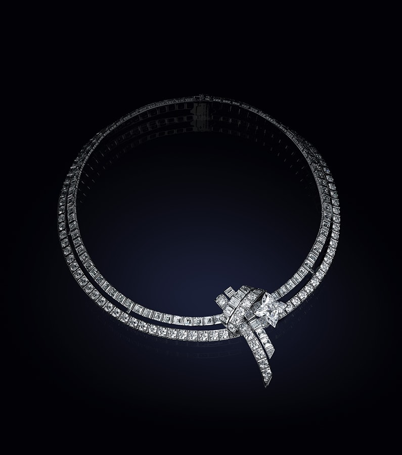 Louis Vuitton's <em>Bravery</em> high jewellery collection is a glittering tribute to the maison's founder LOUIS VUITTON BRAVERY COLLIER STAR DU NORD