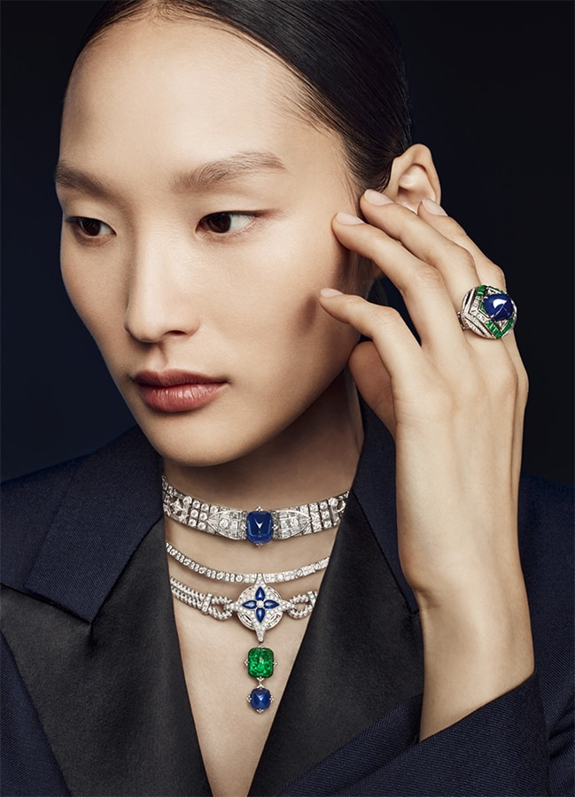 Louis Vuitton's <em>Bravery</em> high jewellery collection is a glittering tribute to the maison's founder Louis Vuitton Bravery 6