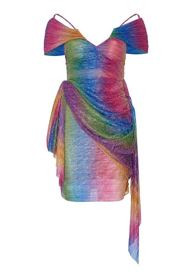 Annie's Ibiza: Fashion queen Annie Doble's favourite places to go in Ibiza Mia Vesper Rainbow B Dress