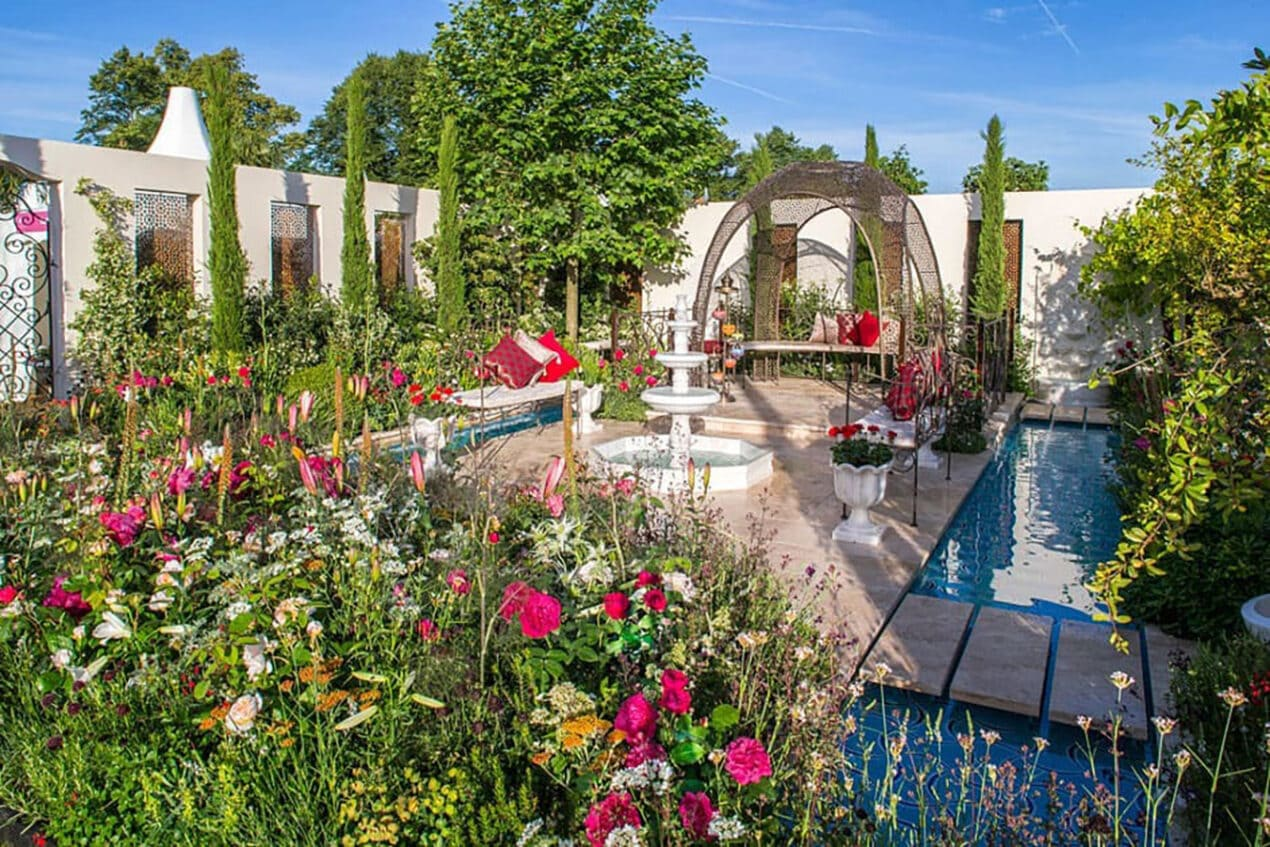 Things To Do in London in July 2021: Summer Events – RHS Hampton Court Palace Garden Festival 2021