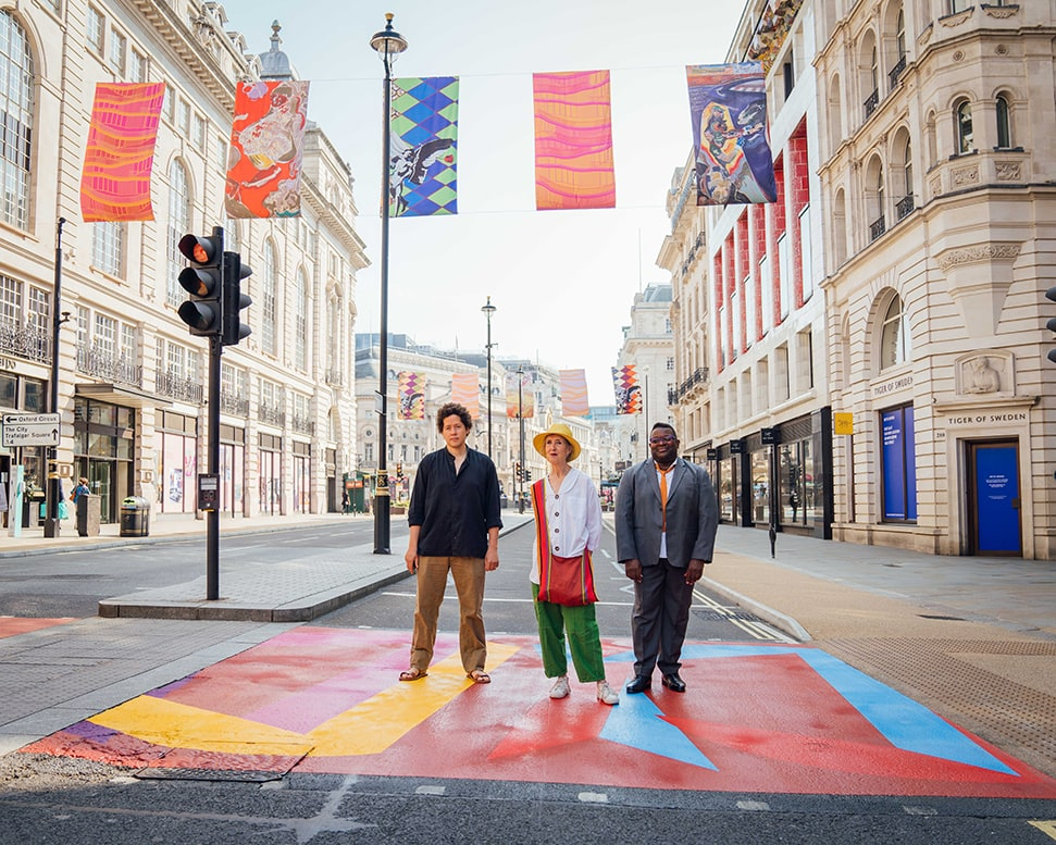 London gets a bright new look with the Piccadilly Art Takeover SGR05848