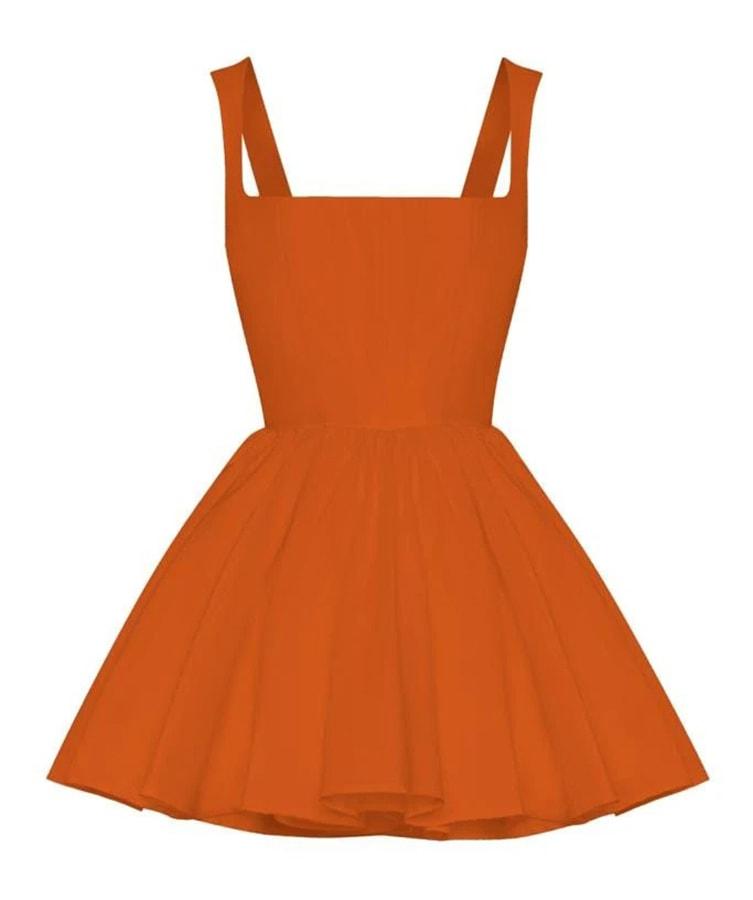 Annie's Ibiza: Fashion queen Annie Doble's favourite places to go in Ibiza Silvia Astore Annie Dress in Rust