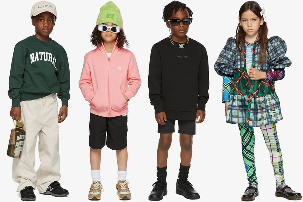 The incredibly chic new kidswear fashion collections to shop now Ssense kidswear collection 2021