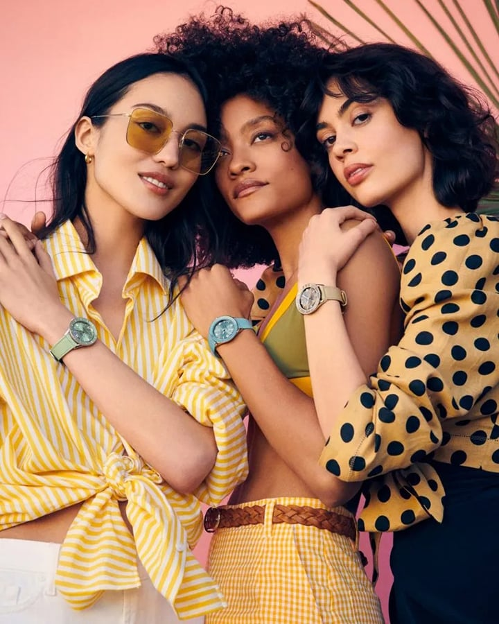 Discover the best colourful watches to invest in this season with electric colour pop options from Rolex, Breitling, Chanel and Hublot
