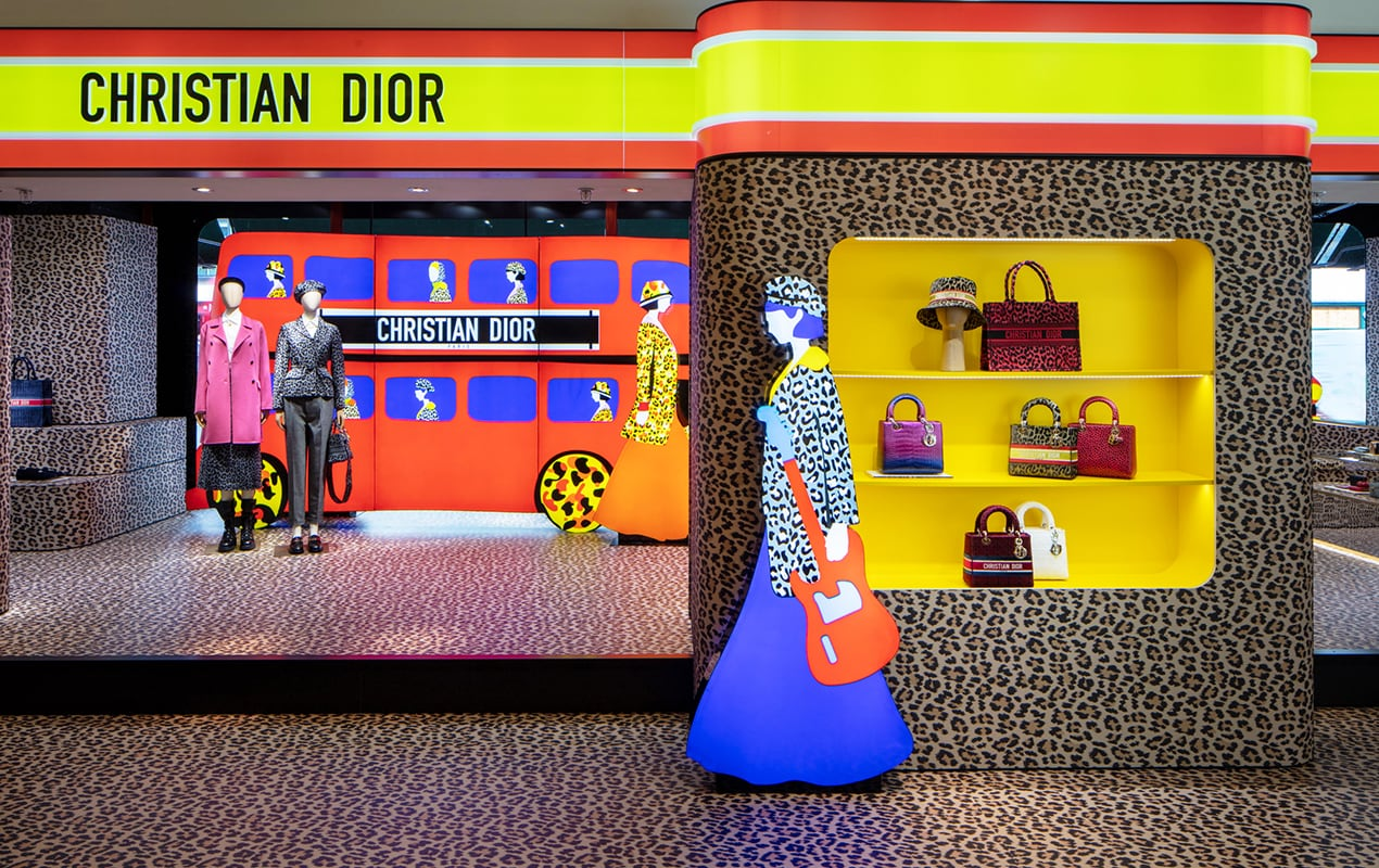 London's best fashion pop-ups to visit this August 2021 from Dior at Harrods • Resellfridges: The Wedding at Selfridges • Harris Tapper at Harrods