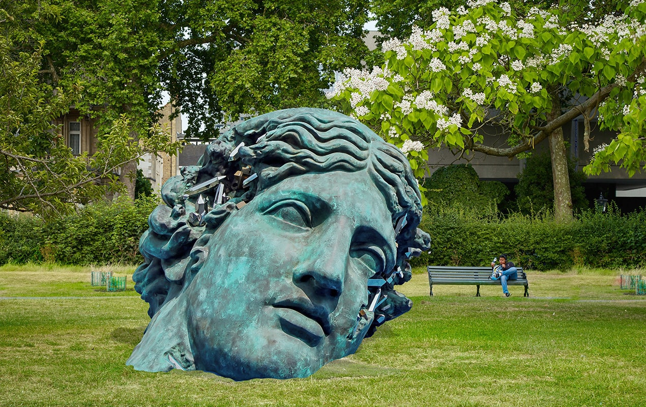 Frieze Sculpture returns to Regent's Park with a riot of colour and whimsical works