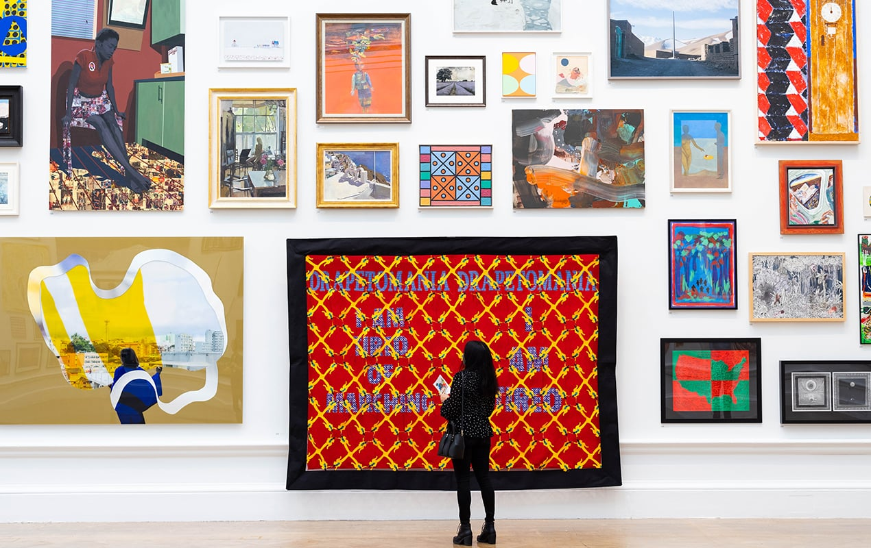 A preview of Yinka Shonibare' Royal Academy Summer Exhibition 2021 - Reclaiming Magic, focuses on diversity. We speak to curator Axel Rüger
