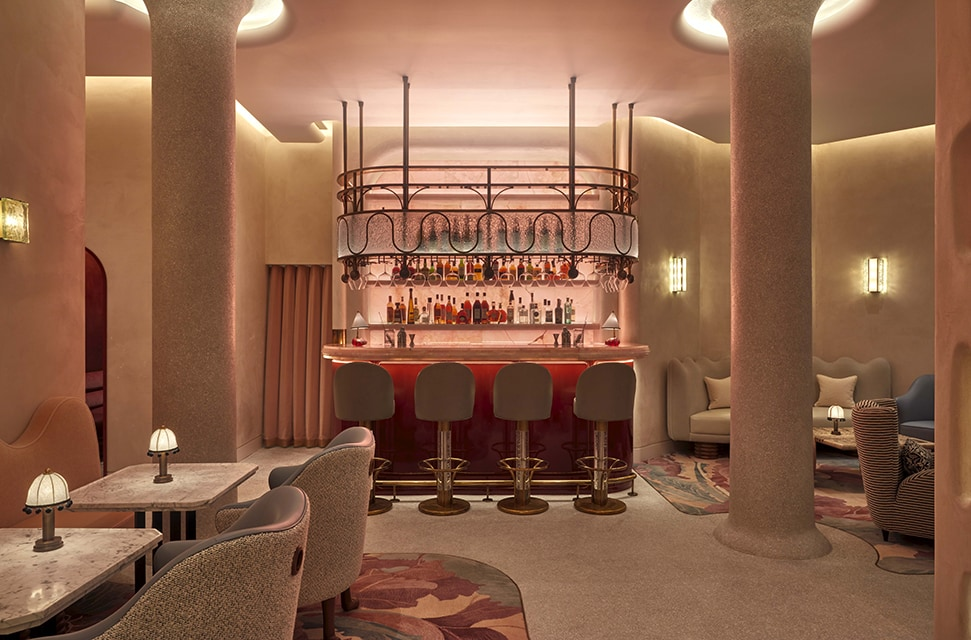The best new London bars to visit for cocktails this Autumn 2021 • The Painter's Room at Claridge's • Soma • La Magritte • La Rampa • Planque